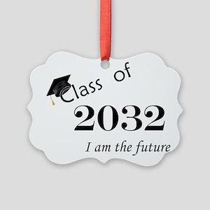 Born in 2014/Class of 2032 Picture Ornament