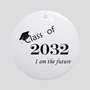 Born in 2014/Class of 2032 Ornament (Round)