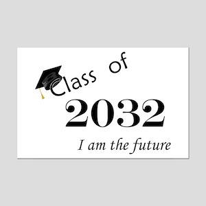 Born in 2014/Class of 2032 Mini Poster Print