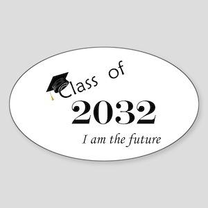 Born in 2014/Class of 2032 Sticker (Oval)