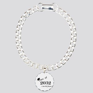 Born in 2014/Class of 2032 Charm Bracelet, One Cha