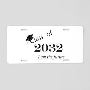 Born in 2014/Class of 2032 Aluminum License Plate