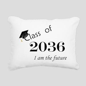 Born in 2014/Class of 2036 Rectangular Canvas Pill