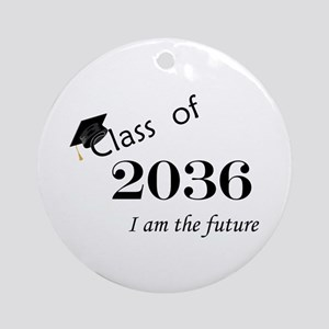 Born in 2014/Class of 2036 Ornament (Round)