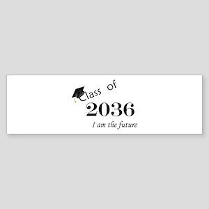 Born in 2014/Class of 2036 Sticker (Bumper)