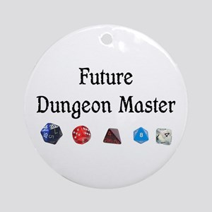 Future Dungeon Master Ornament (Round)
