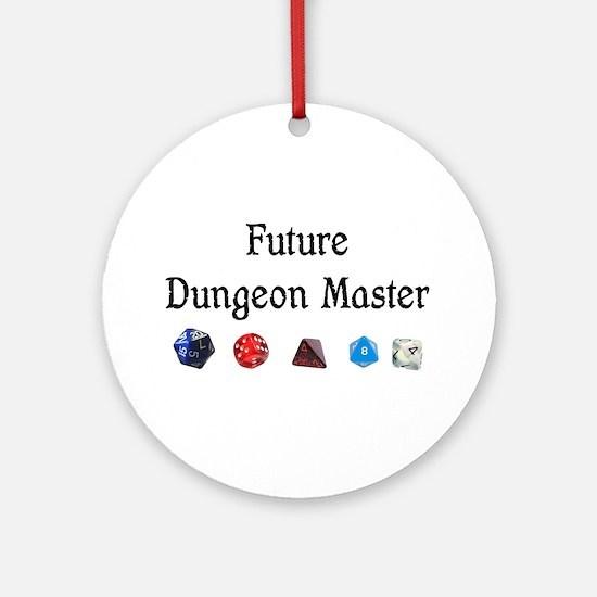 Future Dungeon Master Ornament (Round)