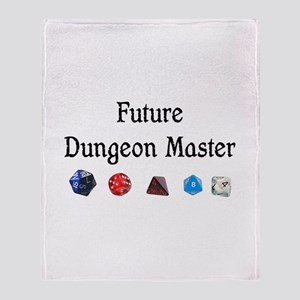 Future Dungeon Master Throw Blanket