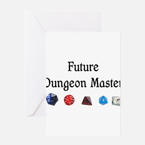 Future Dungeon Master Greeting Card