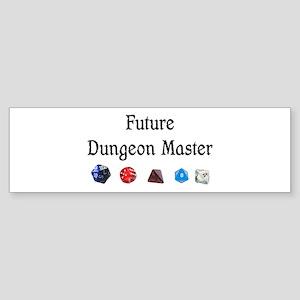Future Dungeon Master Sticker (Bumper)