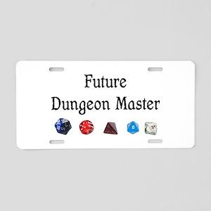 Future Dungeon Master Aluminum License Plate