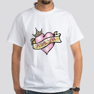 Sweetheart Ashlyn Custom Princess White T-Shirt