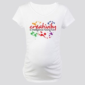 creativity Maternity T-Shirt
