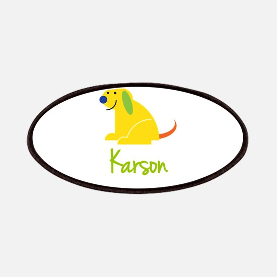 Karson Loves Puppies Patches