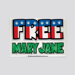 Free-Mary-Jane-2.png Rectangle Magnet
