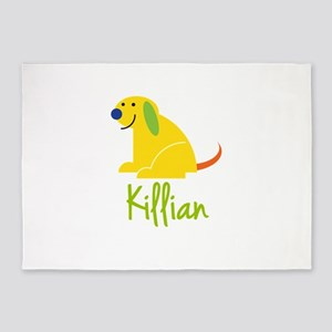 Killian Loves Puppies 5'x7'Area Rug