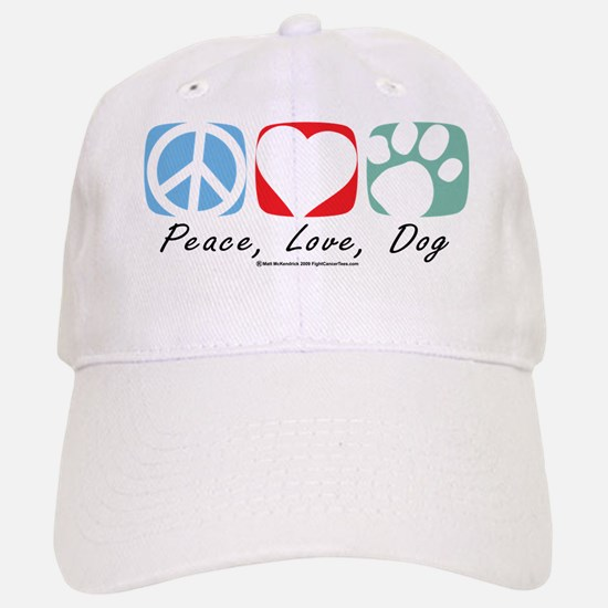 Peace-Love-Dog-2009.png Baseball Baseball Baseball Cap