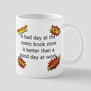 Comics Are Better Than Work Mug