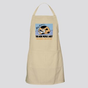 The More People I Meet Cat Apron