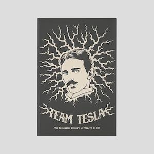 Team Tesla Rectangle Magnet