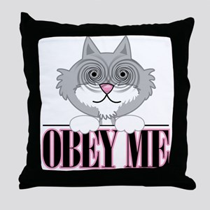 Obey Me: Cat Throw Pillow