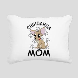 Chihuahua Mom Rectangular Canvas Pillow