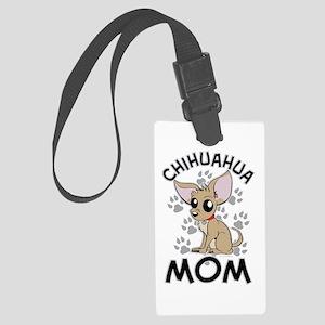 Chihuahua Mom Luggage Tag