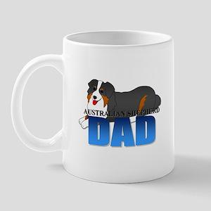 Australian Shepherd Dad Mug