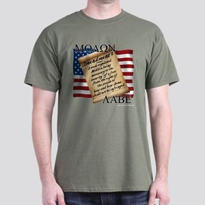 2A Molon Labe Men's Dark T-Shirt