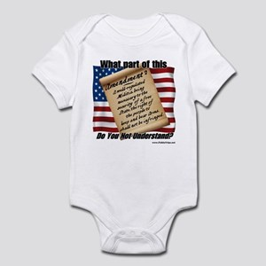 Second Amendment Infant Bodysuit
