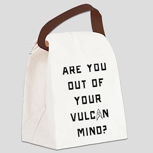 Vulcan Mind Canvas Lunch Bag