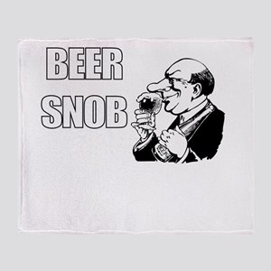 BEER SNOB Throw Blanket