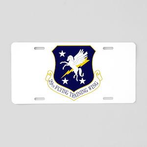 29th FTW Aluminum License Plate