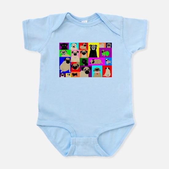 Lots o Pugs Infant Bodysuit