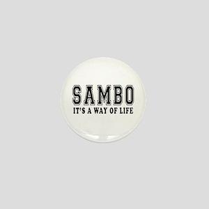 Sambo Is Life Mini Button