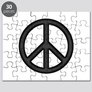 Round Peace Sign Puzzle