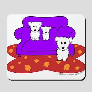 """""""Cozy Maltese"""" Mousepad"""