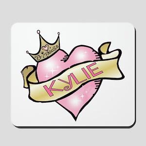 Sweetheart Kylie Custom Princess Mousepad