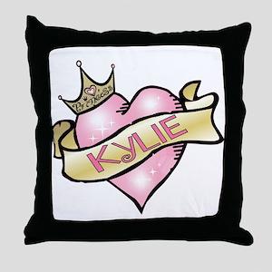Sweetheart Kylie Custom Princess Throw Pillow
