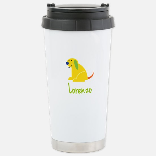 Lorenzo Loves Puppies Travel Mug