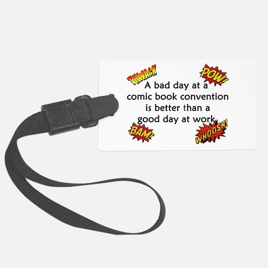 Comic Book Conventions Luggage Tag