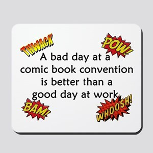 Comic Book Conventions Mousepad
