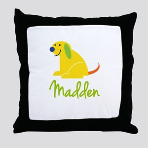 Madden Loves Puppies Throw Pillow