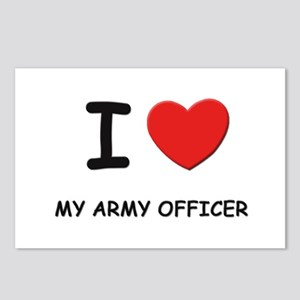 I love army officers Postcards (Package of 8)