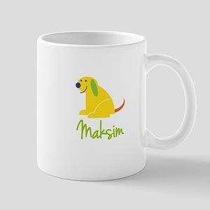 Maksim Loves Puppies Mug