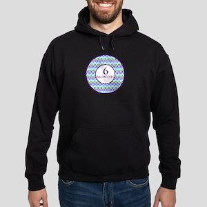 6 Months Chevron Milestone Hoodie