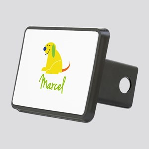 Marcel Loves Puppies Hitch Cover