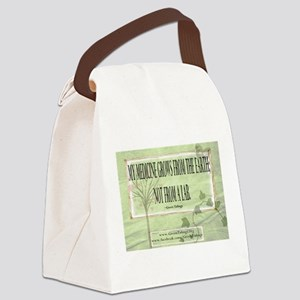 Medicine From The Earth Canvas Lunch Bag