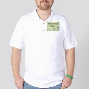 Medicine From The Earth Golf Shirt