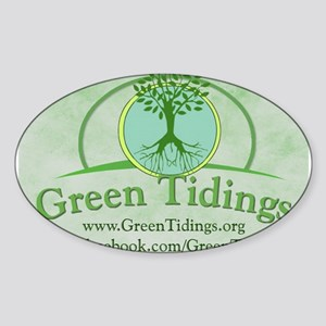 Green Tidings Image Sticker